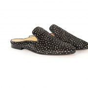 Slip dotted handcrafted shoes