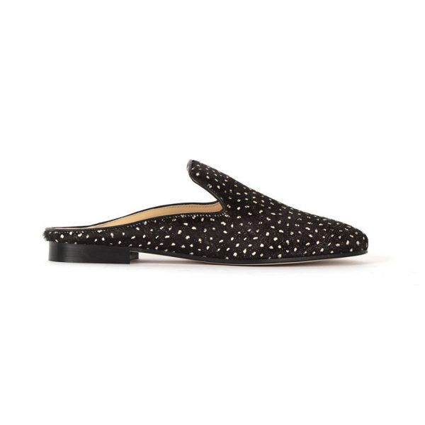 Women slip leather shoes