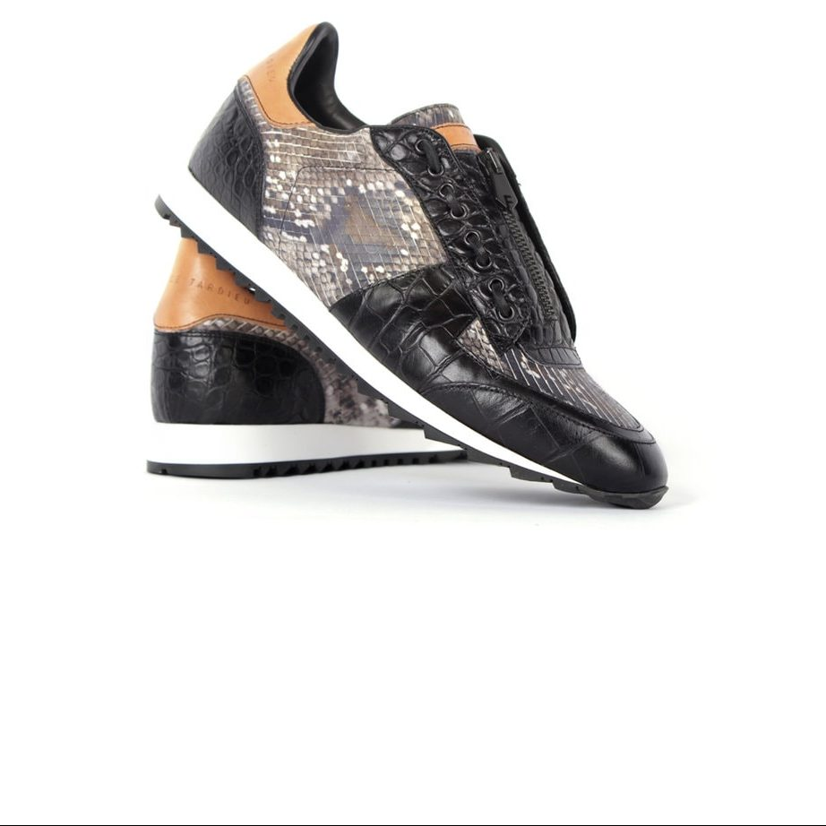 Runner fashion leather shoes