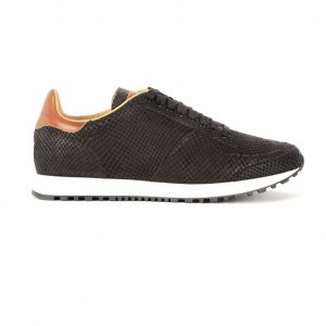 RUNNER 02 LACE UP BLK SALMON USTICA