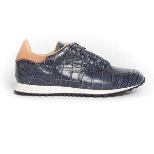 RUNNER 03 OCEANO BLUE (crocodile print)