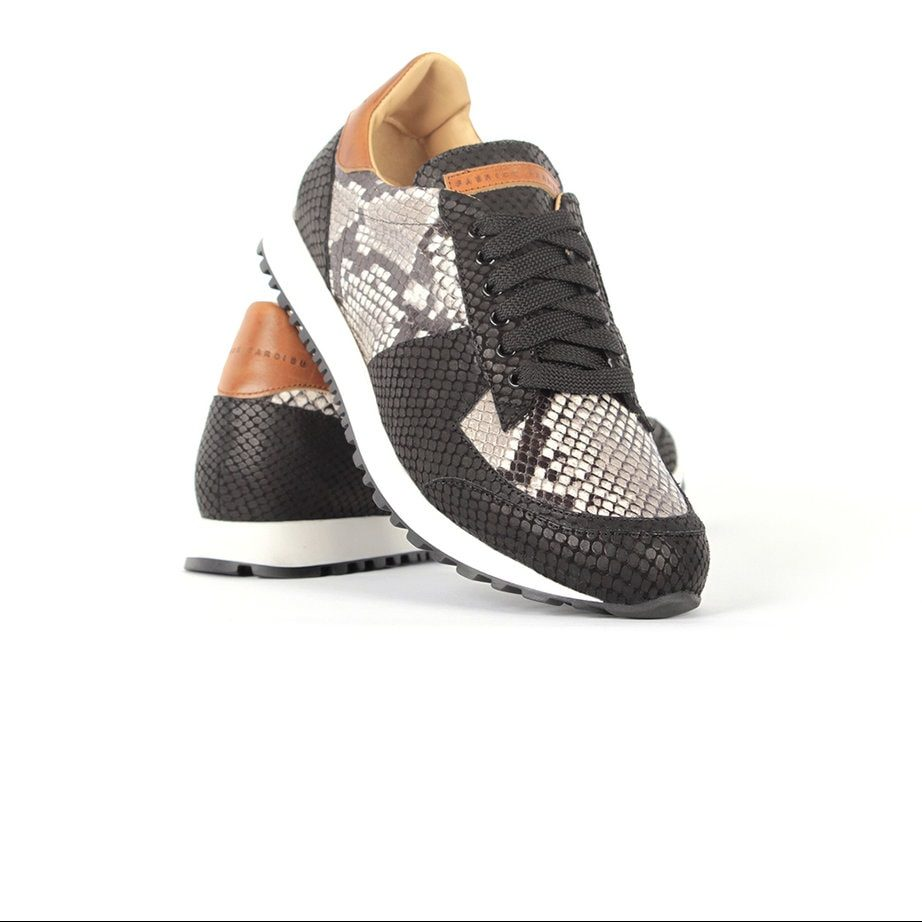 Black and white python runner